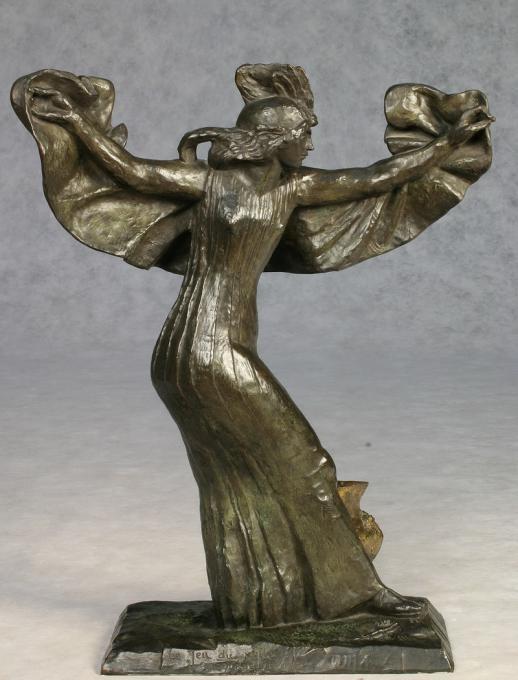 А. Бурдель. Танец c покрывалом (скульптура).
