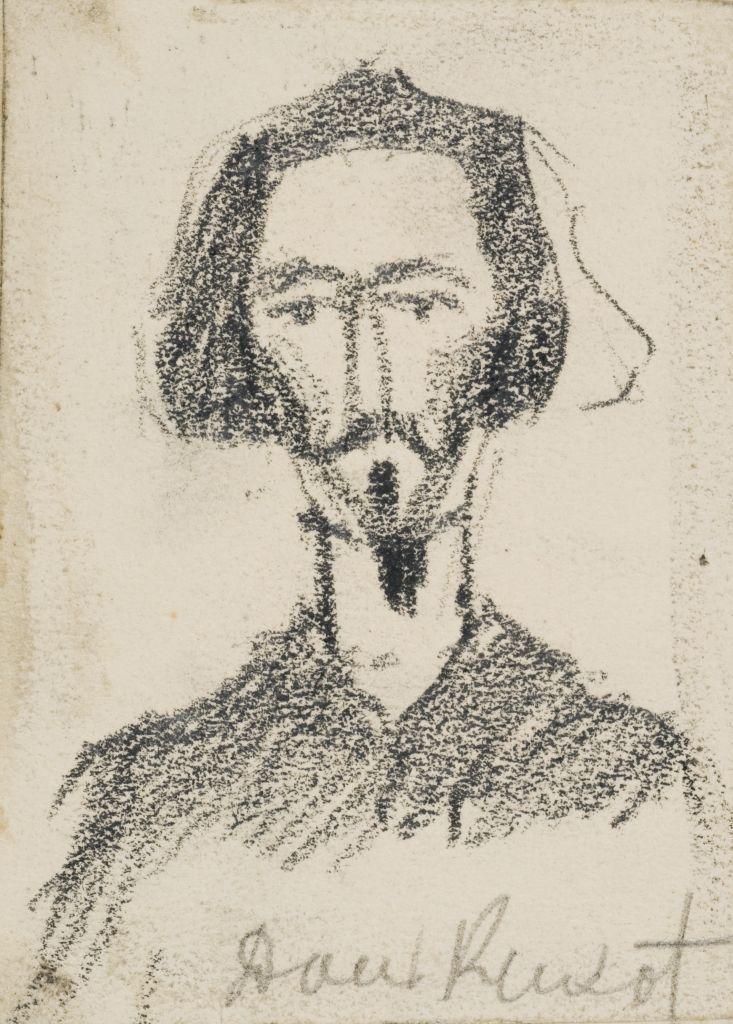 Рис. О.И.Шведе. Ок. 1910 г.