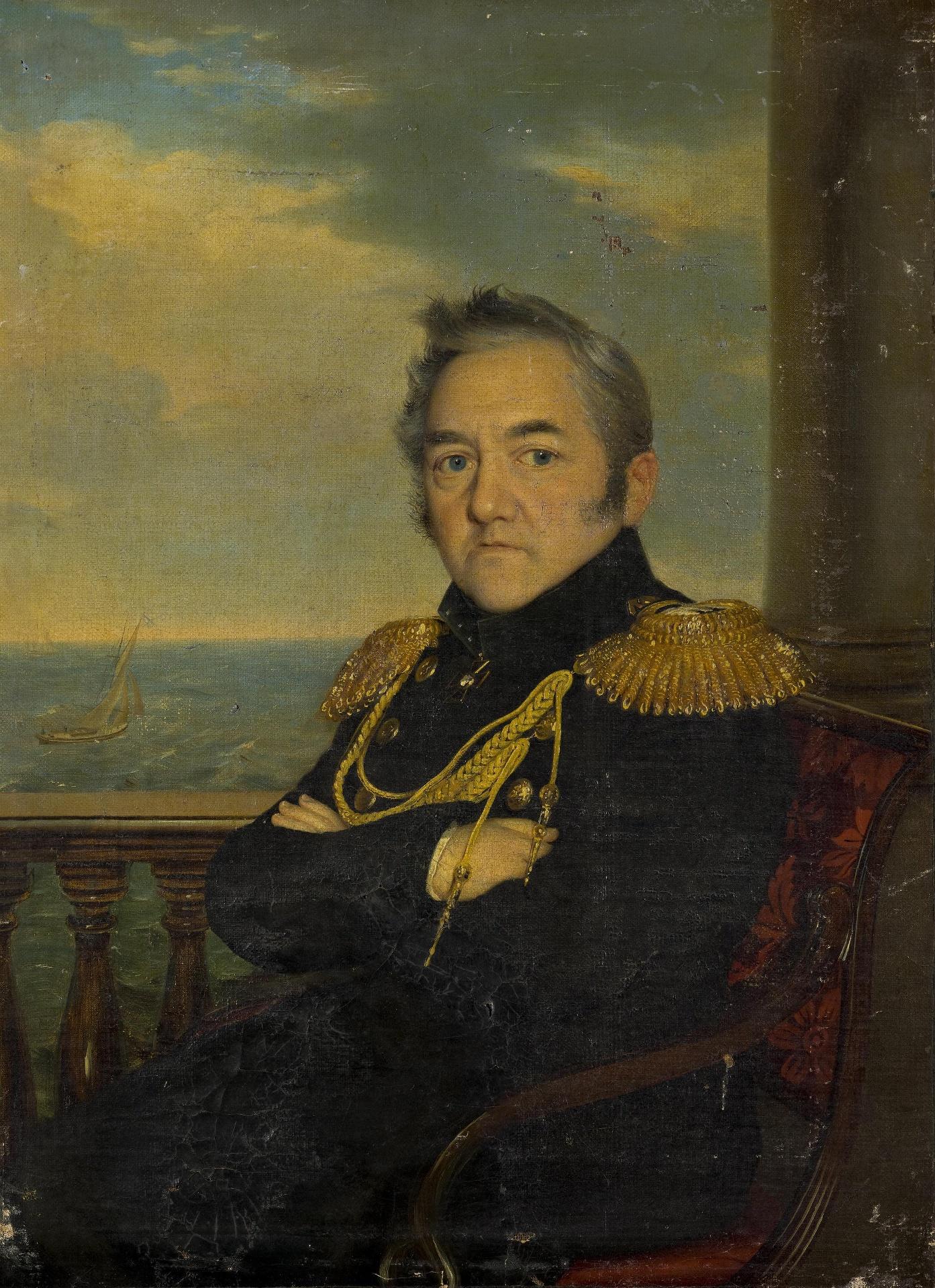 Р.Г.Шведе. Портрет адмирала М.П.Лазарева.