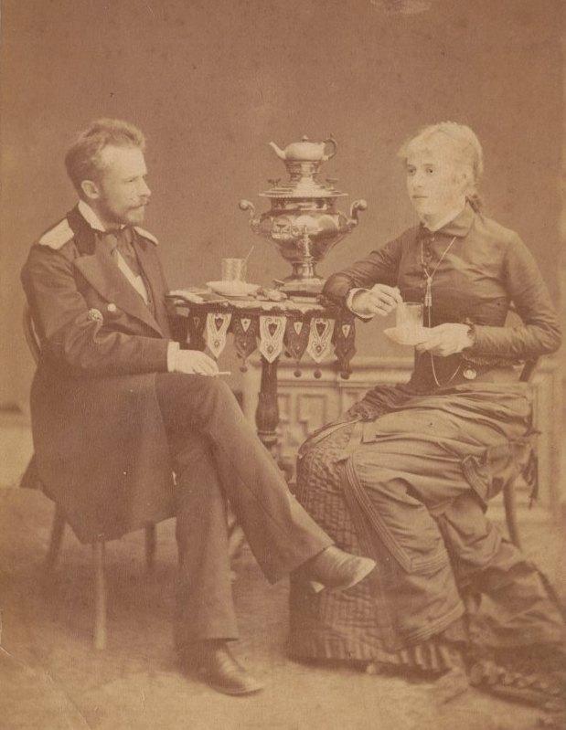 Отец и мать О.И.Шведе.