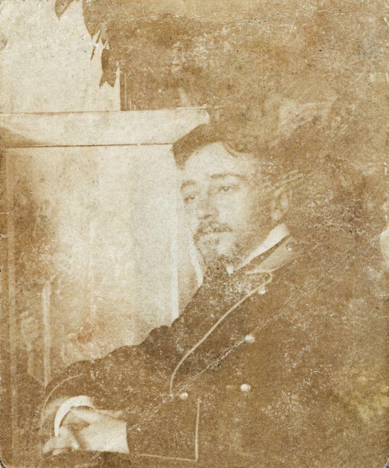 Михаил Иванович Шведе. Ок. 1910 г.