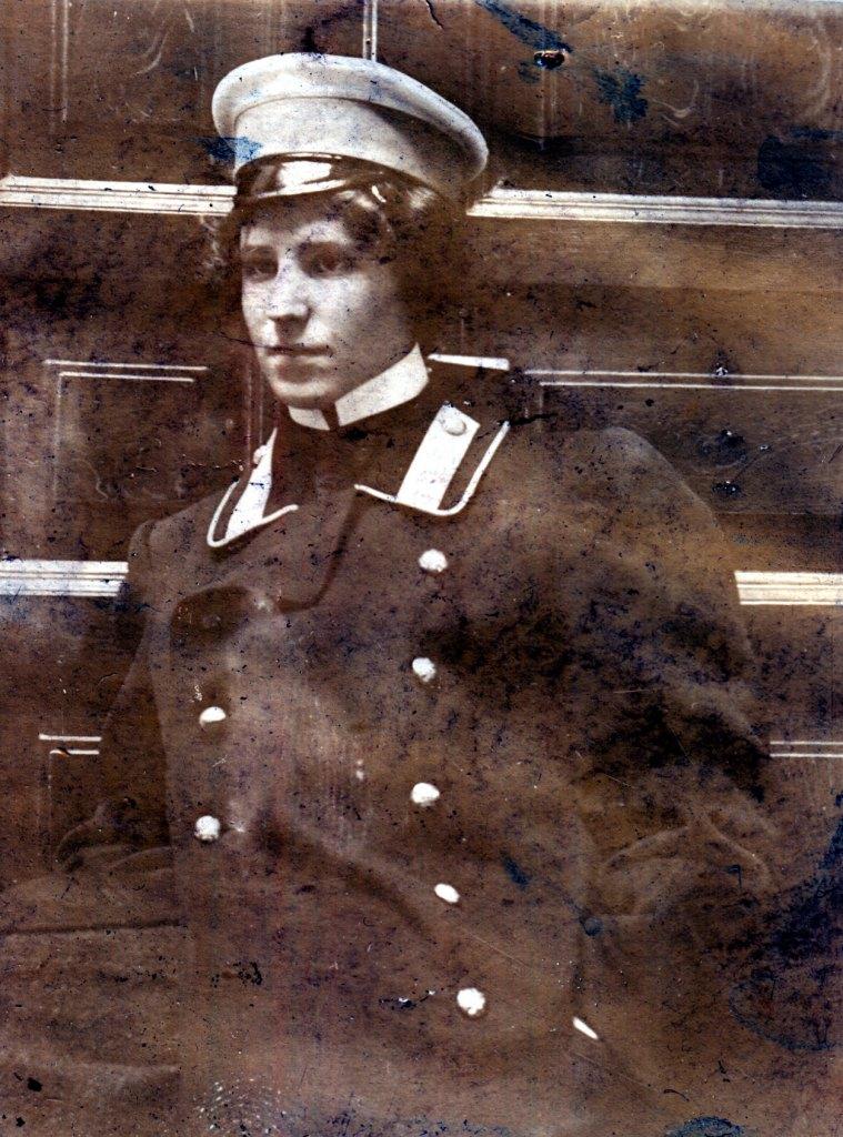 О.И.Шведе. Ок. 1902 г.