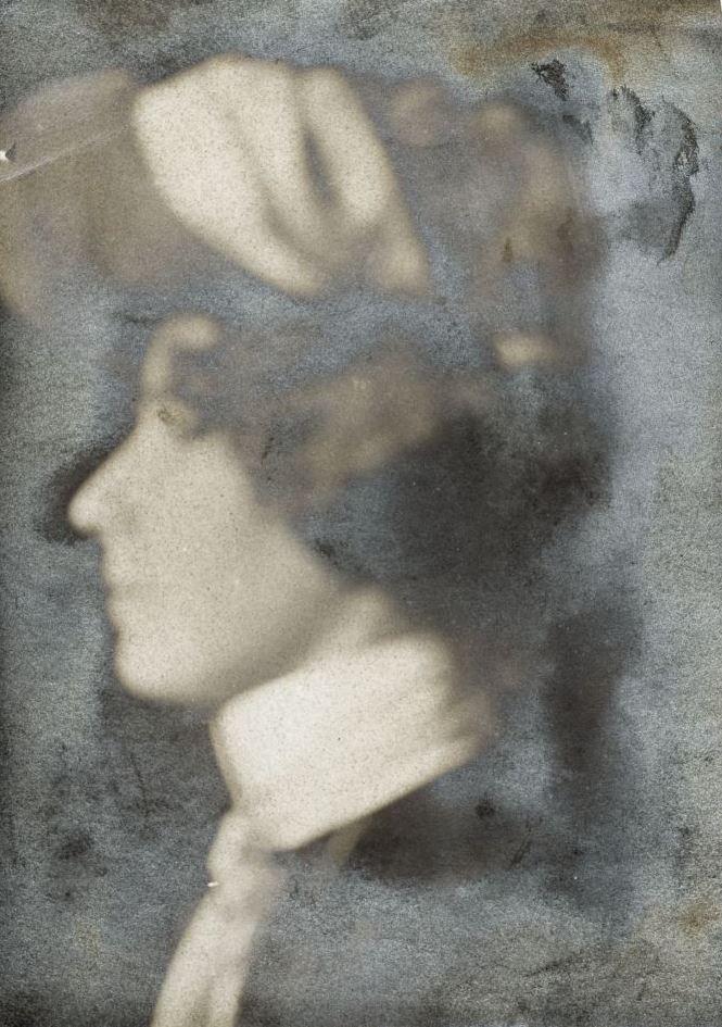 Творческий эксперимент Ольги со своей фотографией...