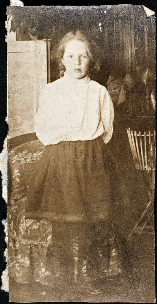 Таня Шведе. Ок. 1905 г.