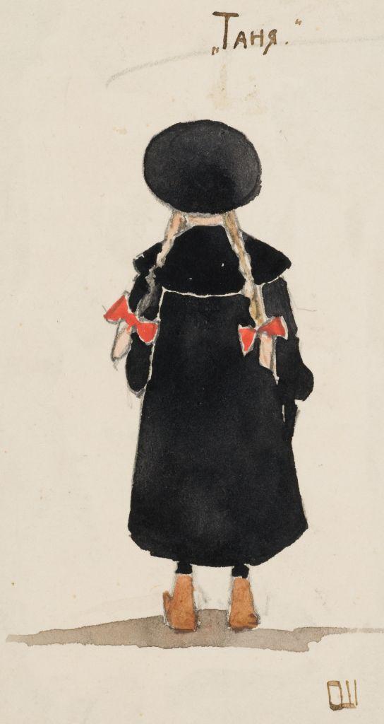 О.И.Шведе. Акварель. 1910е гг.