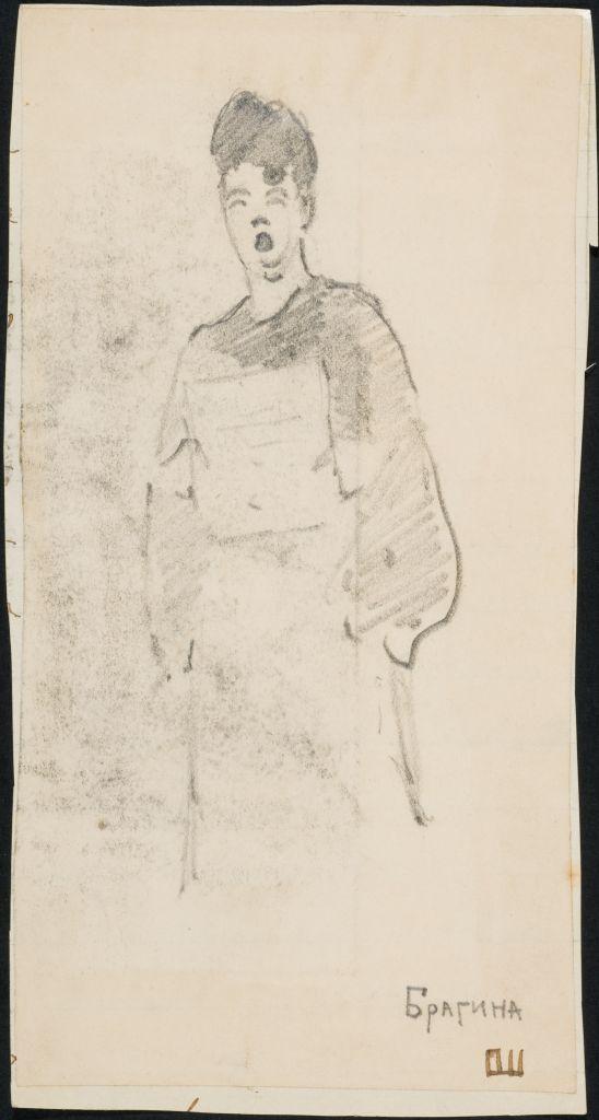 Рис. О.И. Шведе-Дубенецкене-Калпокене. 1910е гг.