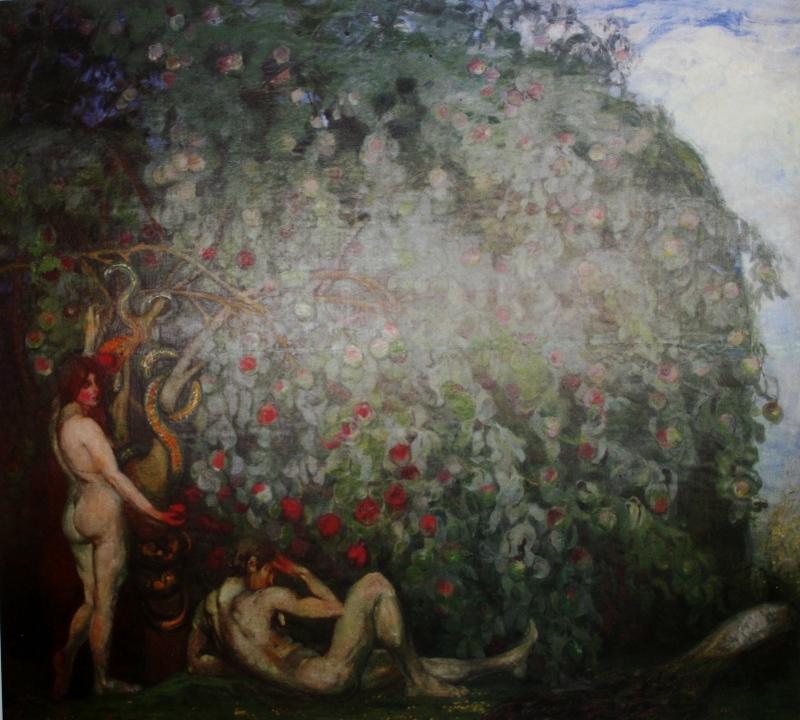 Б.Анисфельд. Адам и Ева. 1910е.