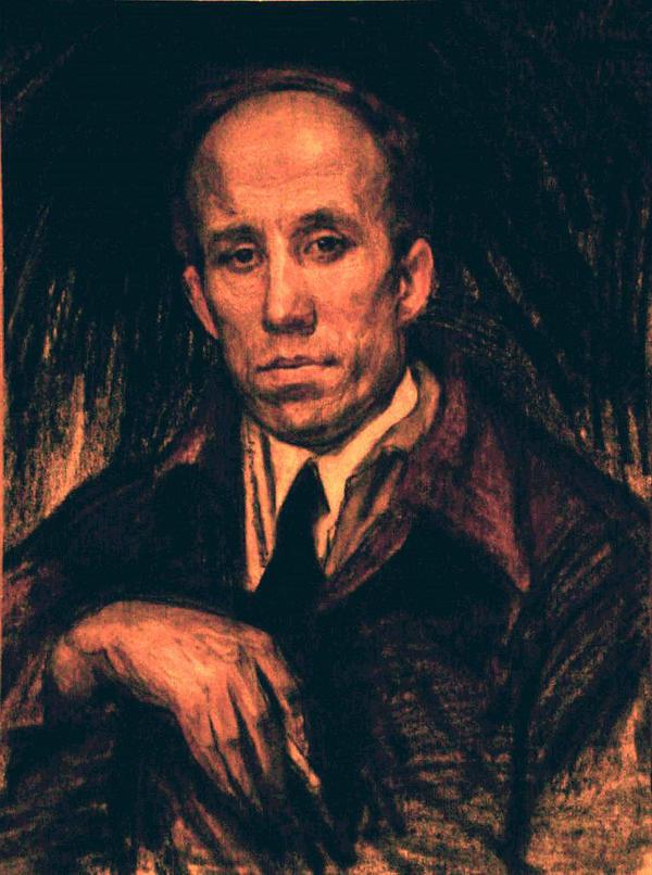 Мешков В. Н. Мужской портрет. 1937 г.