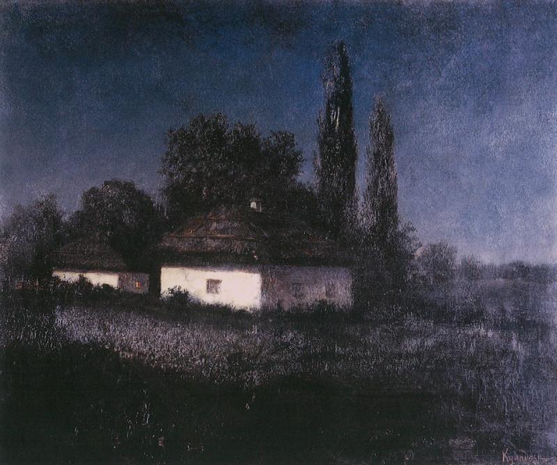 Архип Иванович Куинджи. Лунная ночь.