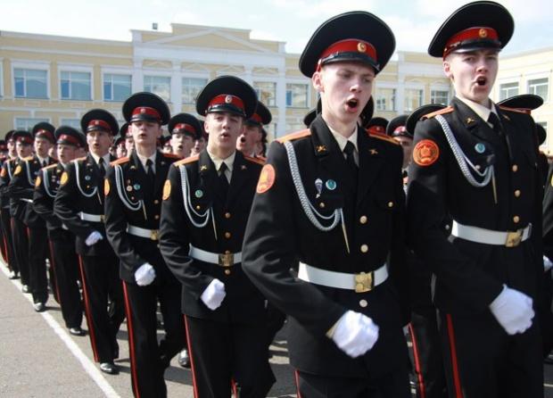 Новости Минобороны. Омские кадеты