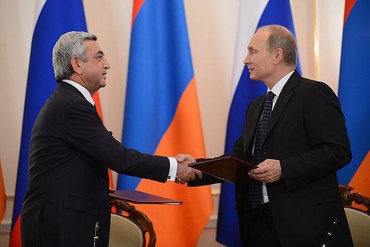 Путин-Саргсян