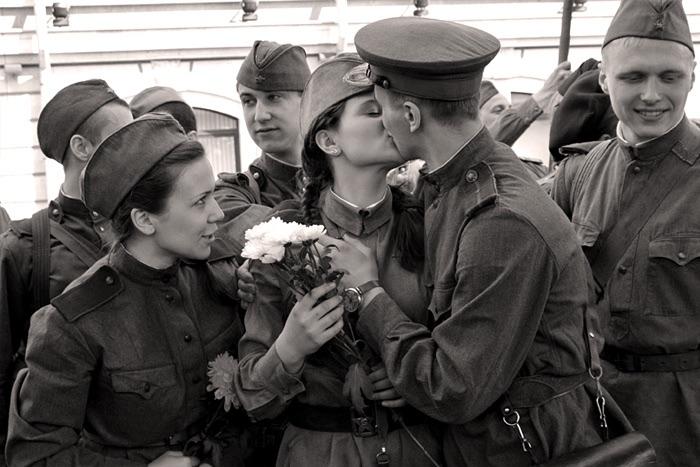 Старое фото военное дождалась весь
