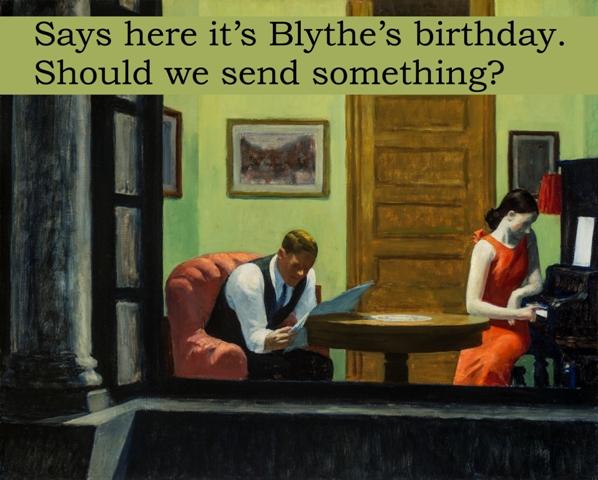 Blythe Birthday