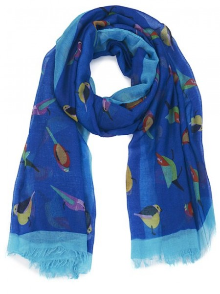 zoom_Bright_Blue_Bird_Print_Scarf