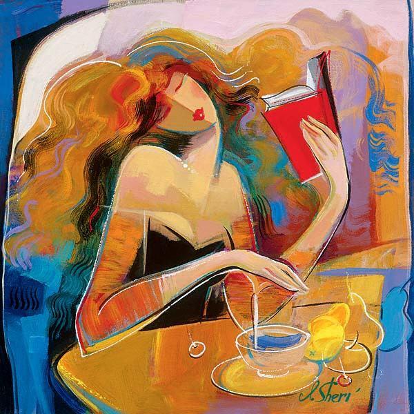 85008564_Poetry_Reading_24x24