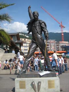 Montreux's epic Freddie Mercury statue