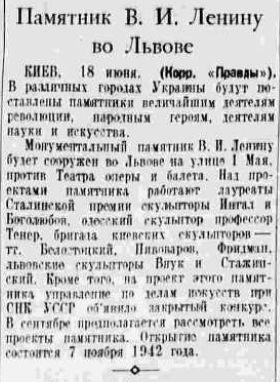 19410619 Pravda Lvov