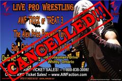 Halloween has been cancelled!!!