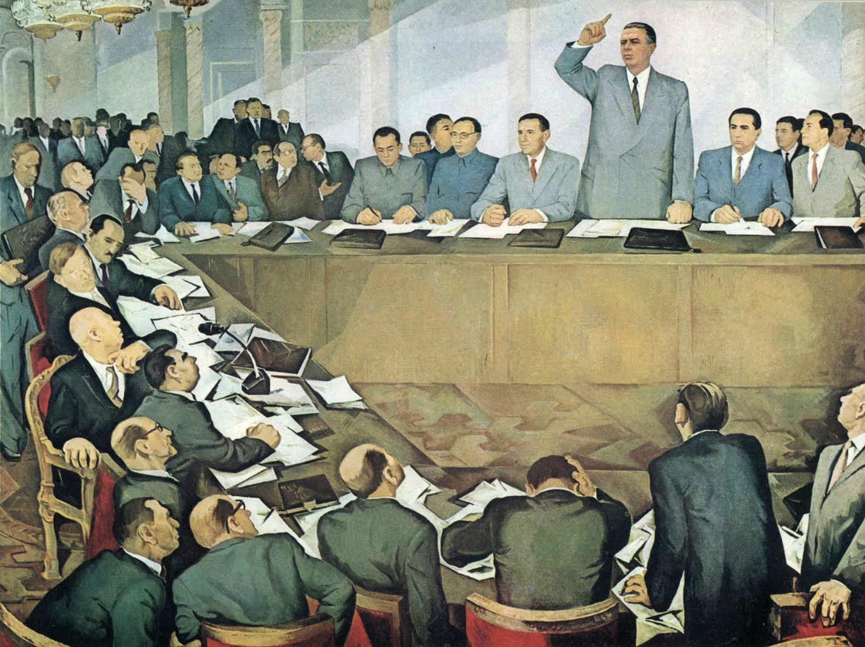 Гури Мадхи. Энвер Ходжа разоблачает советских ревизионистов;. 1979 г.