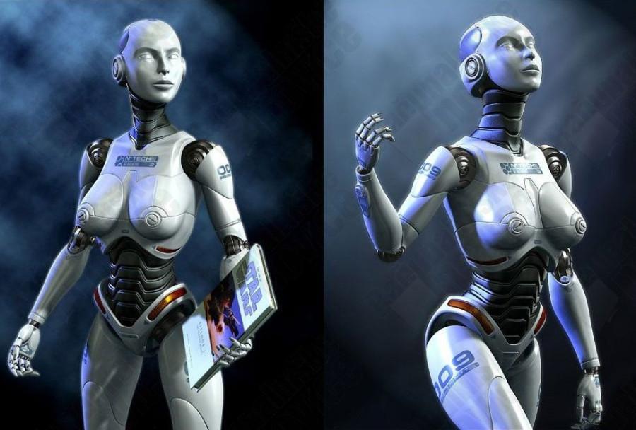 3д  секс с роботом