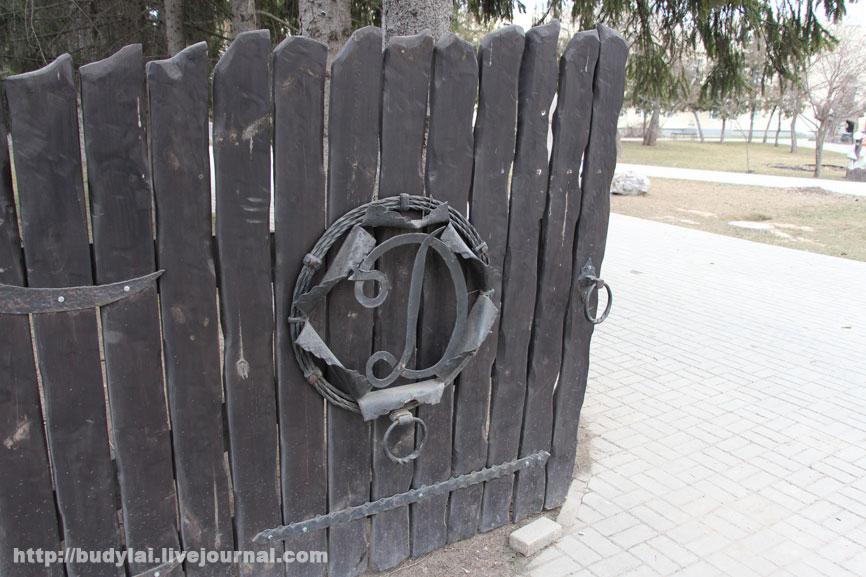 ворота-в-паркД