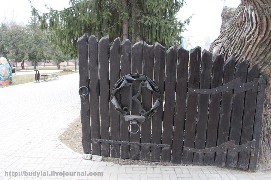 ворота-в-паркК