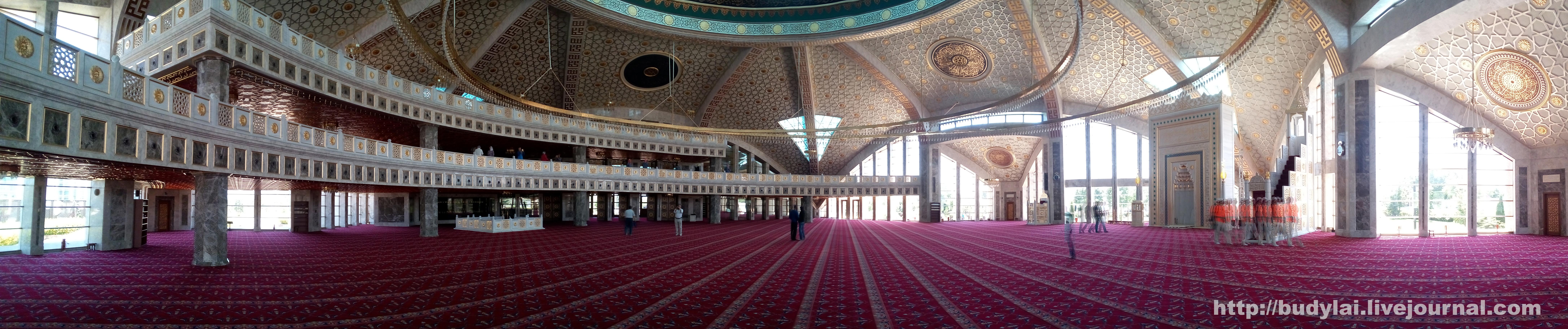 аргун мечеть интерьер