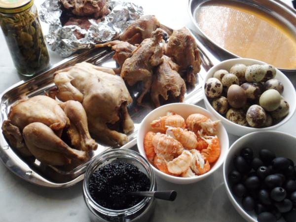 Рецепты салата настоящего оливье