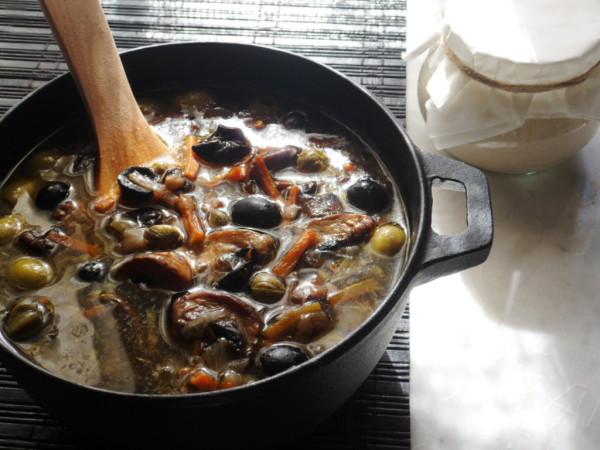 грибная солянка постная рецепт с фото