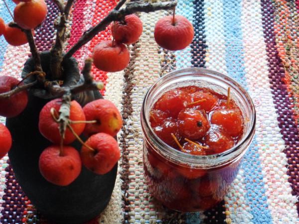 Варенье из китайских ( и райских) яблочек