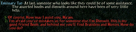 You Be Abdel Dont Try To Deny It Should Not Have Come Baldurs Gate Given Many Warnings Before