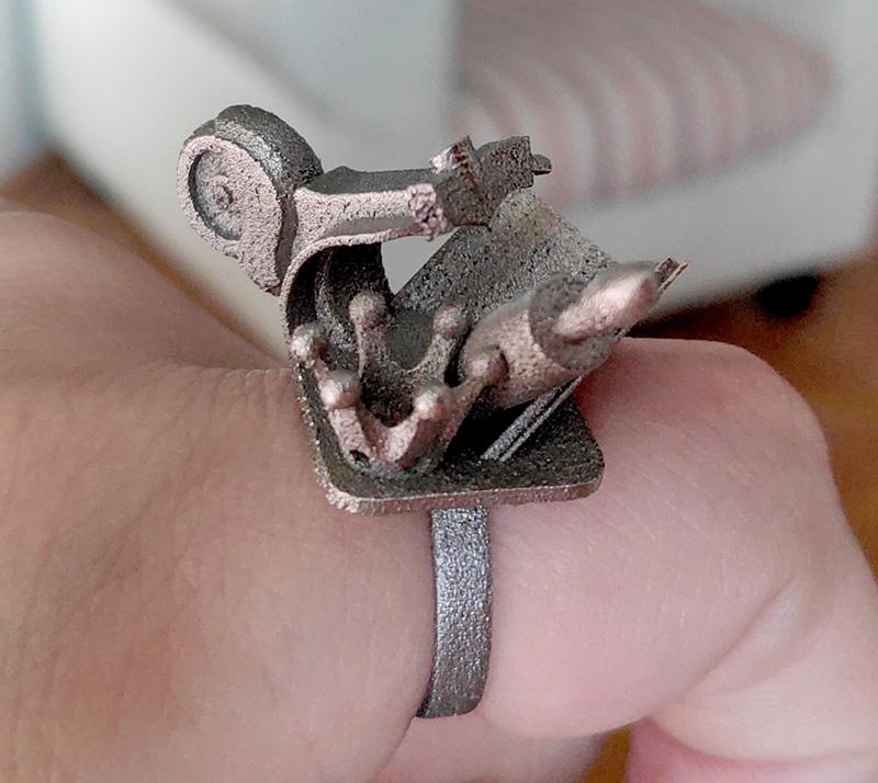3d печать кольца