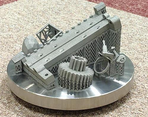 Кольцо на платформе 3D принтера