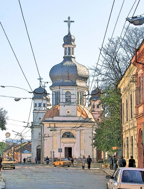 Греко-католическая церковь г. Черновцы
