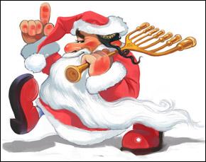 Дед Мороз... только странный немного :)