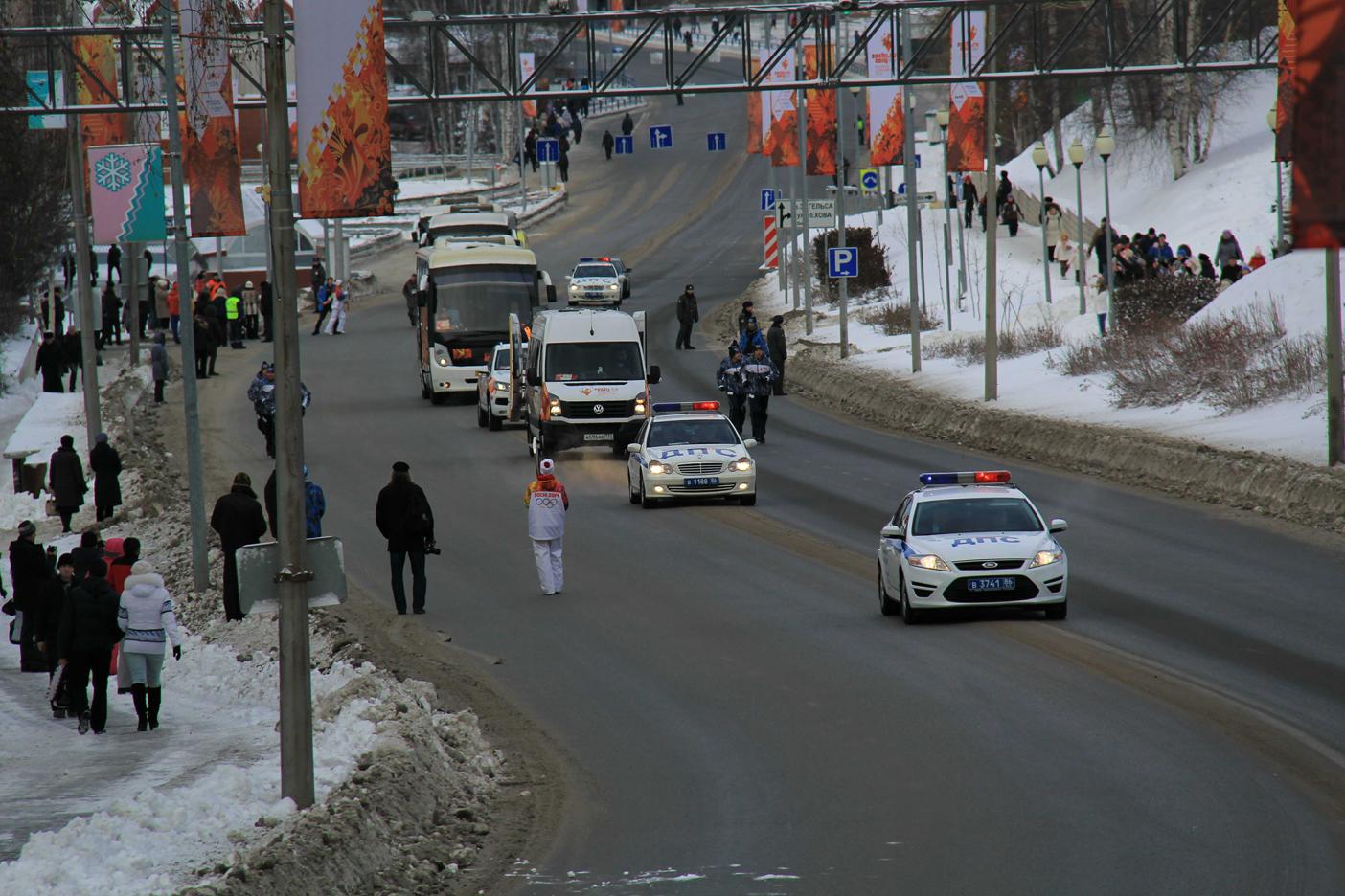 Подъём по улице Гагарина. Начало.