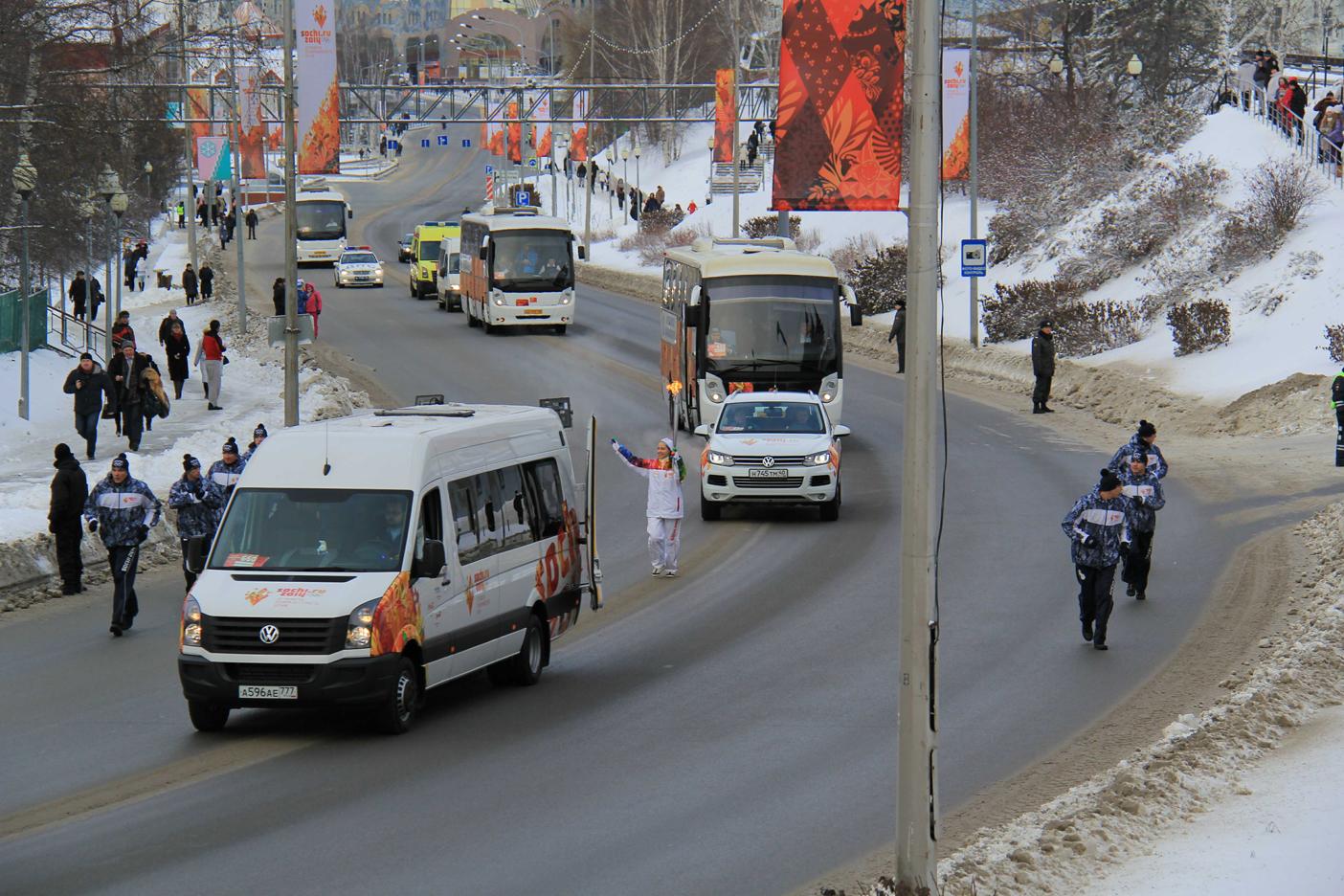 Подъём по улице Гагарина. Продолжение.