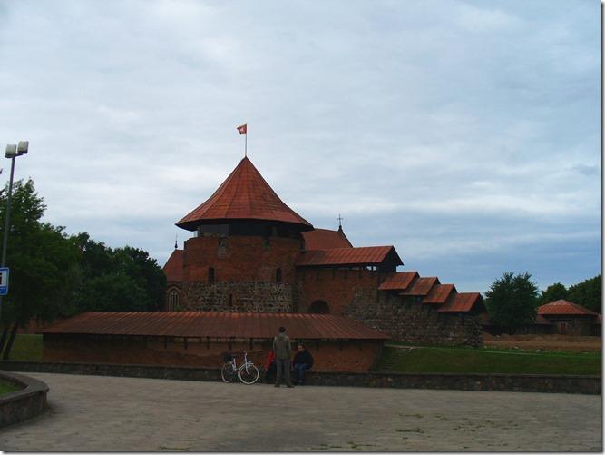 Замок в Литве.