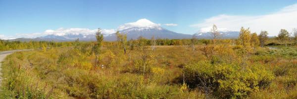 Вулканы осенью.