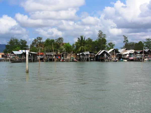 Тайская деревня на воде. 2007