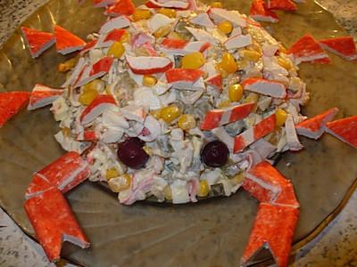 салат краб крабыч