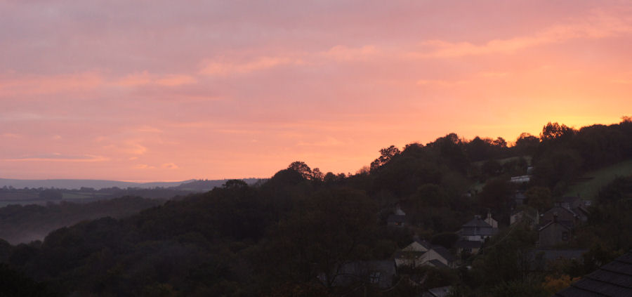 chilsworthy sunrise