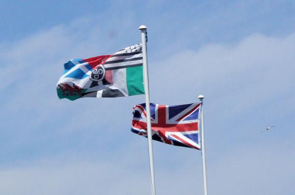 Celtic nations flag...