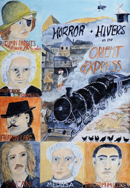 Horror and Hivers on the Orient Express