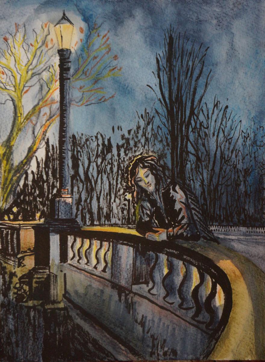 Maglor on Magdalen Bridge