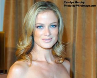 Carolyn murphy sex tape