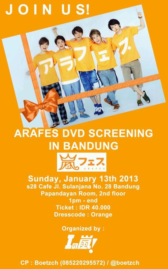 Nobar Arafes Bandung