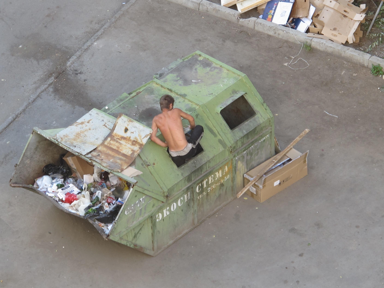 Секс в мусорке 13 фотография