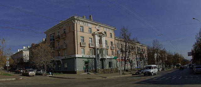 34 ул.Первомайская и ул.Маяковская