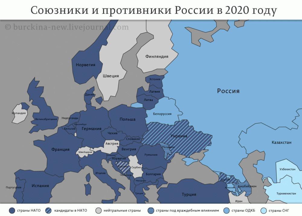 Союзники-и-противники-России-в-2020-году